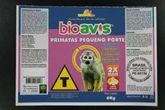 BIOAVIS PRIMATAS PEQUENO PORTE  6Kg