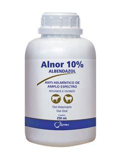 ALNOR ALBENDAZOL 10%          250ML