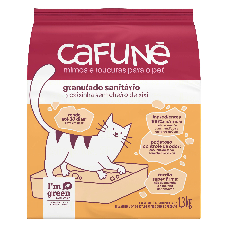 GRANULADO SANIT GATO CAFUNE...1,3KG